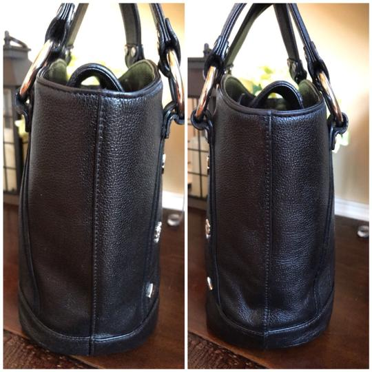 MCM Leather Bucket Gucci Tote in Black