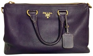 Prada Satchel in plum
