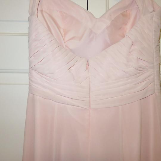 Bill Levkoff Pink Polyester 1111 Feminine Bridesmaid/Mob Dress Size 6 (S)