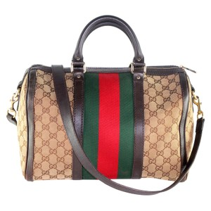 7fed3c436e Gucci Vintage Speedy Bandouliere Monogram Cross Body Bag