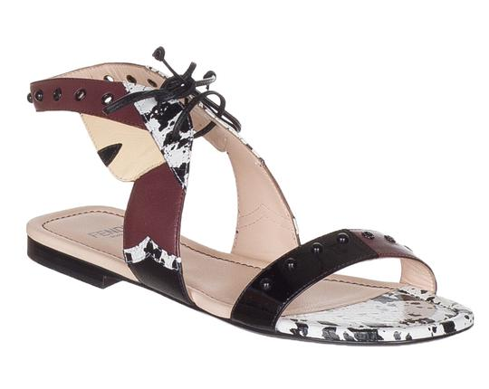 Preload https://img-static.tradesy.com/item/23880498/fendi-multicolor-women-s-leather-bug-monster-lace-up-flats-sandals-size-us-5-regular-m-b-0-0-540-540.jpg