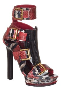 Alexander McQueen red Sandals