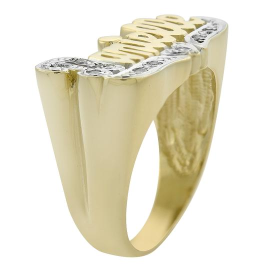 Avital & Co Jewelry 0.09 Carat Diamond 'Danielle' Vintage Ring 14K Two Tone Gold