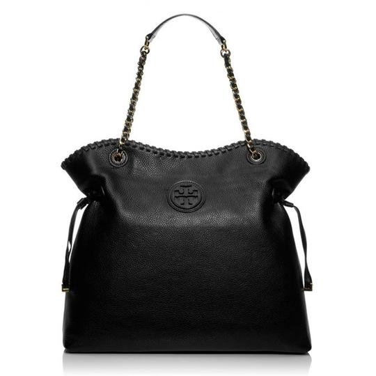 Preload https://img-static.tradesy.com/item/23880669/tory-burch-marion-handbag-slouchy-black-pebbled-leather-tote-0-0-540-540.jpg