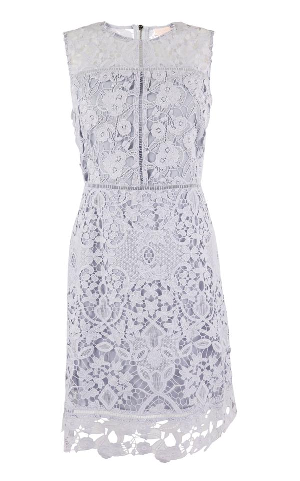 4592bf46249f Ted Baker Purple Primrose Lace Short Cocktail Dress Size 6 (S) - Tradesy