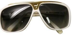 Louis Vuitton Louis Vuitton White Evidence Sunglasses