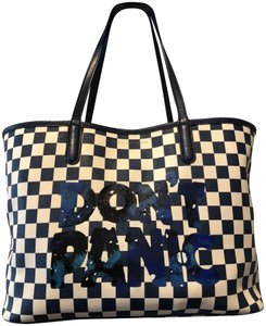 Marc by Marc Jacobs Tote in Blue and white