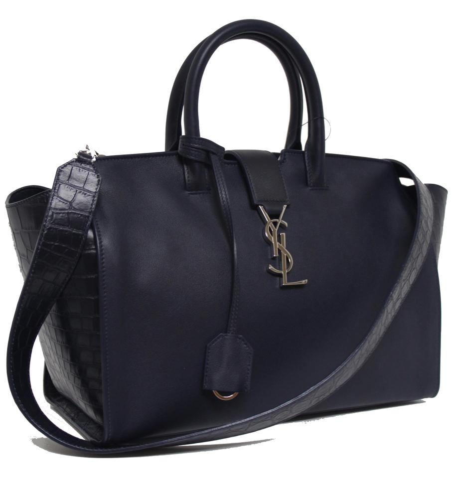 ... Cabas Small Monogram Saint Tote Downtown Marine Leather Laurent New  OqAvAX ... 2dba5968a6906