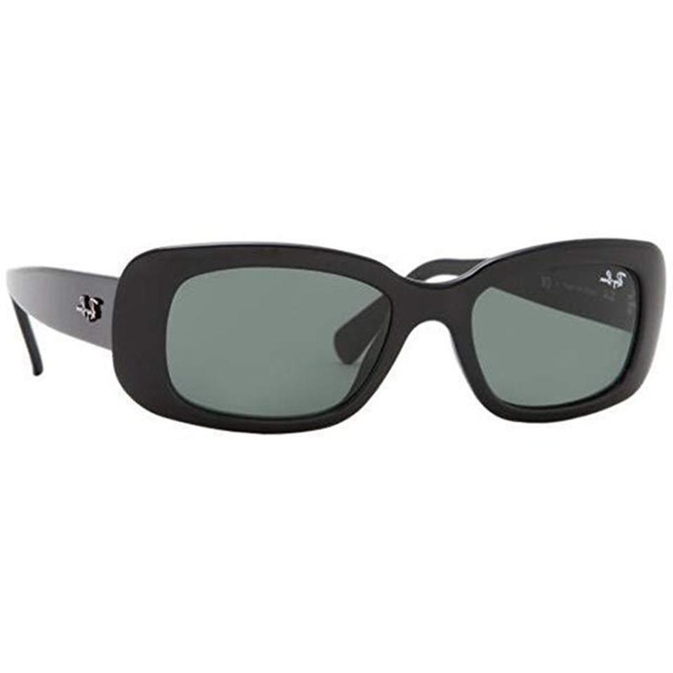 caa27f5299 Ray-Ban Black Gray Rectangular Unisex Rb4122 601 71 Gradient Sunglasses