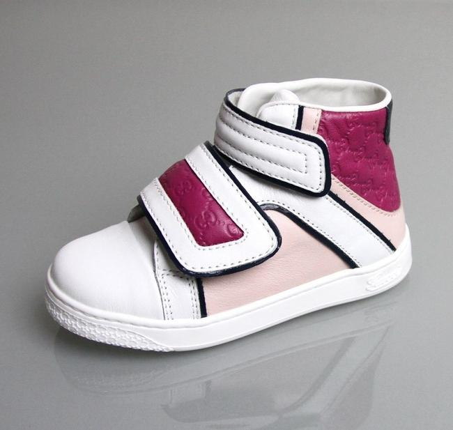 Item - White/Pink/Purple W Leather Coda Pop High-top Sneaker W/Purple Trim 29/Us 12 301354 9086 Shoes