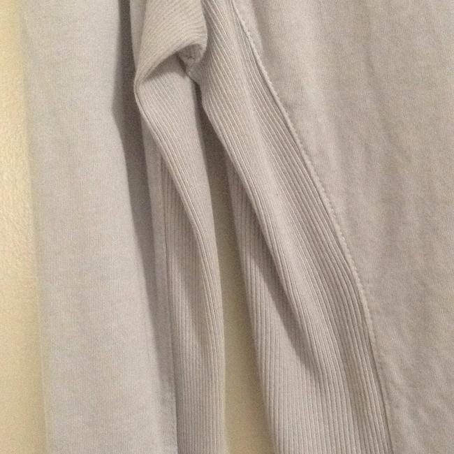 James Perse Top Pale Gray stretch cotton.