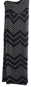 Black and white Maxi Dress by Design History