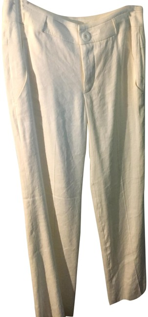 Item - White Everly Pants Size 2 (XS, 26)