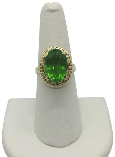 Preload https://img-static.tradesy.com/item/23881124/14k-solid-yellow-gold-and-lime-green-cubic-zirconia-cz-size-7-ring-0-1-540-540.jpg