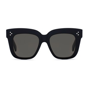 Céline NEW Celine Kim Sunglasses 41444/S Black Oversized Square