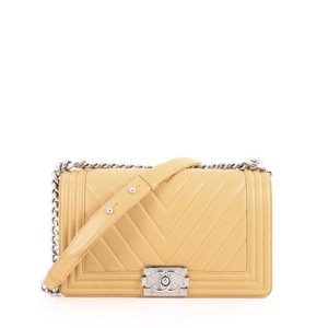88667581ea04 Chanel Calfskin Shoulder Bag