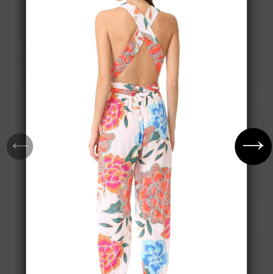 White up Jumpsuit Cover Sarong Wrap Mara Hoffman aq6xFwT