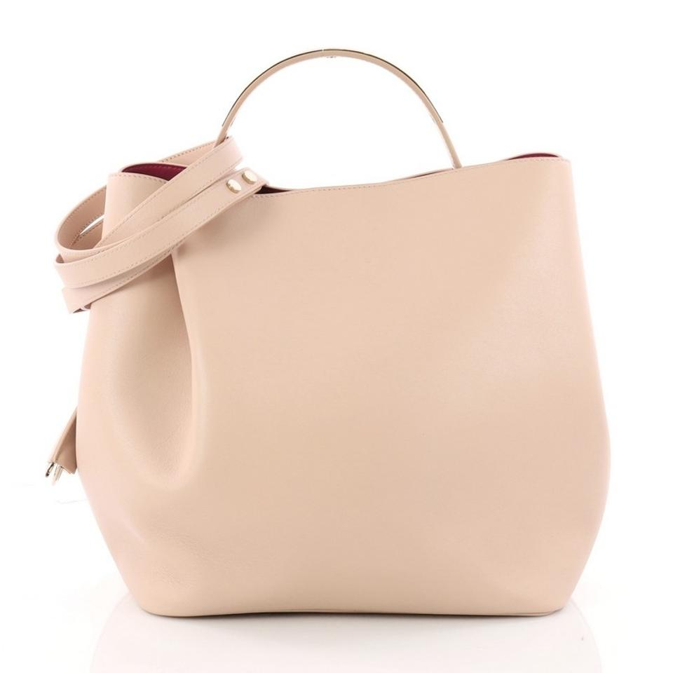 Dior Diorific Bucket Small Light Pink Leather Shoulder Bag 70 Off Retail