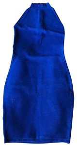 Olivaceous short dress Cobalt Blue on Tradesy