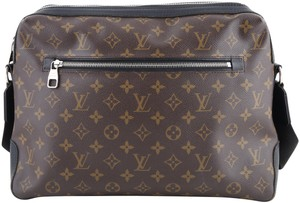 Louis Vuitton Noir Brown Messenger Bag
