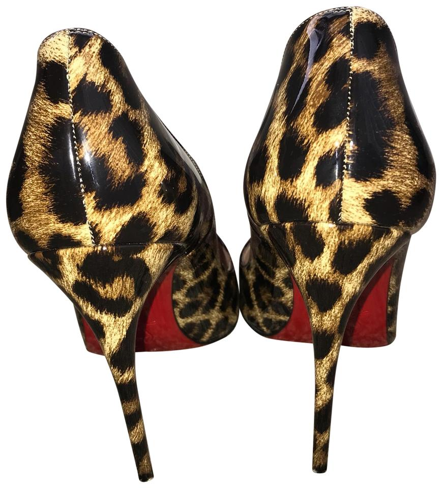 e15b5a6c79d Christian Louboutin Cheetah Print Pumps Size US 9 Regular (M