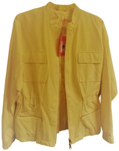 76ffe41377781 Isaac Mizrahi Water-resistant Light Zipped Up 2 Fully Lined Citron Jacket