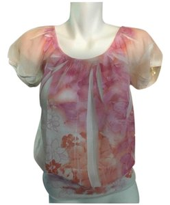 Maurices Top Pink and Orange