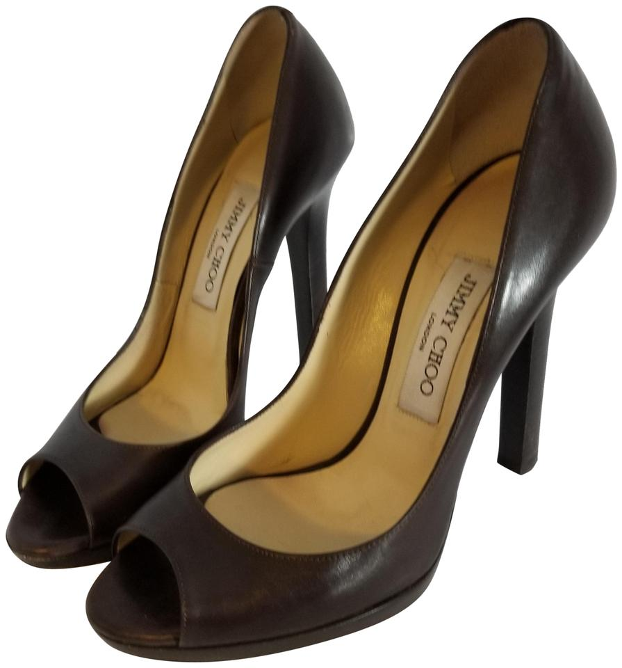 Jimmy Brown Choo Brown Jimmy 'proud' Leather - Pumps 15966f
