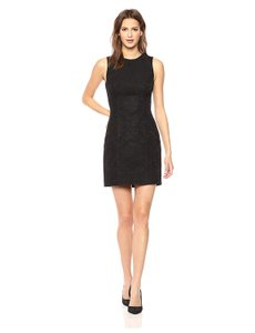 Theory Lbd Sleeveless Jacquard Dress