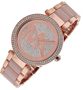 Michael Kors New Michael Kors Parker Rose Gold-Tone Ladies Watch MK6176