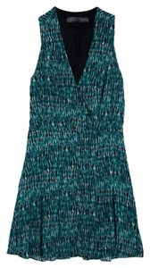 Proenza Schouler short dress Green Fitted on Tradesy