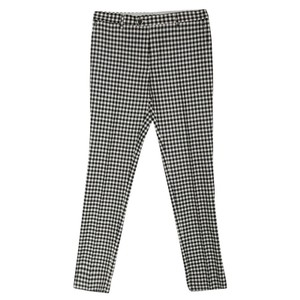 Etro Monochrome Wool Fitted Trouser/Wide Leg Jeans