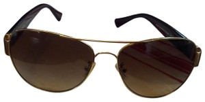 Coach Signature Coach aviator sunglasses