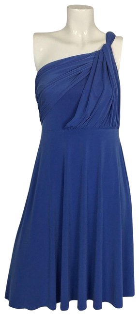 Item - Blue New Bridesmaid Prom Sz2 Nwot Mid-length Formal Dress Size 2 (XS)