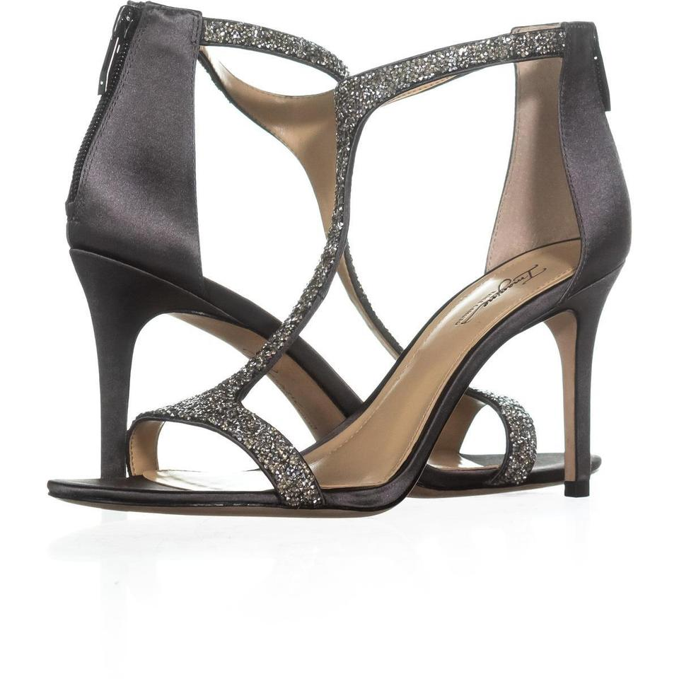 Vince Camuto Grey Imagine By Grey/Platinu Phoebe T-strap 608 Storm Grey/Platinu By Sandals b7bdb8