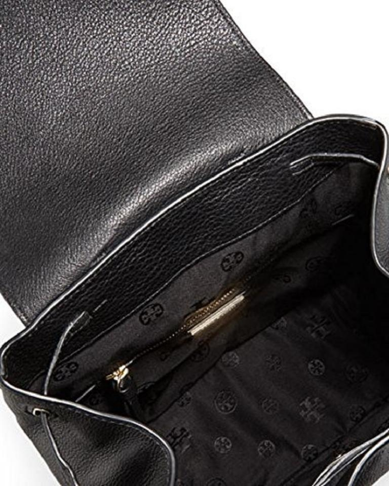 Backpack Tory Burch Leather Bombe Black T w7wZqgxC6