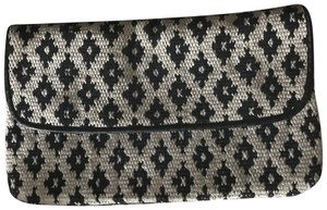 Corey Lynn Calter Black and White Clutch