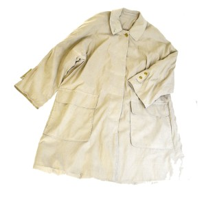 Burberry Made In England Nylon Polyester Trench Coat