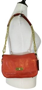 Coach Chelsea Salmon Color Leather F17285 red Messenger Bag