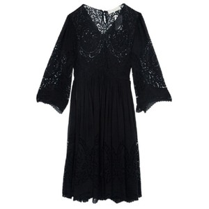 Stella McCartney short dress Black Lace Cotton Silk on Tradesy