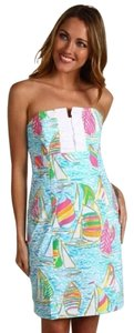Lilly Pulitzer short dress Multi You Gotta Regatta on Tradesy