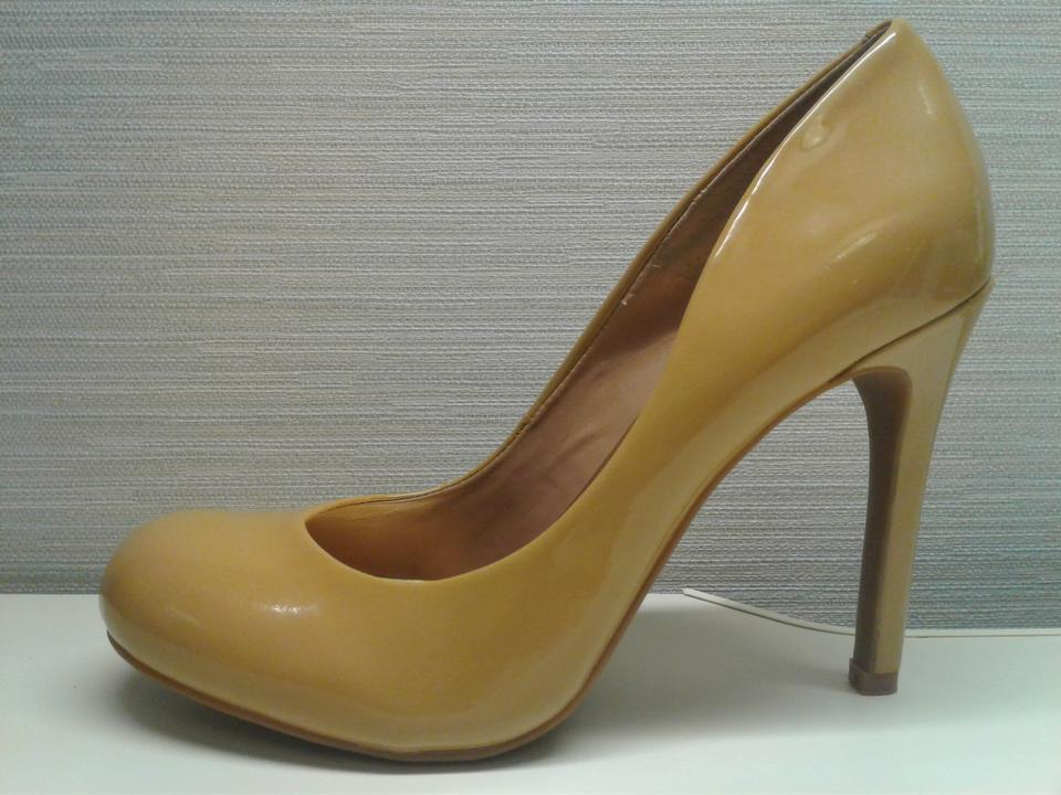 4fe95270e10 Jessica Simpson Brown Woman s Patent Leather Tan