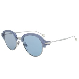 8a69c6ccdb7 Gucci GG 2259 S Round Acetate and Metal Ultra-Slim Blue Lens