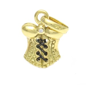 Links of London Links of London 18k Yellow Gold Bustier Lingerie Sweetie Charm