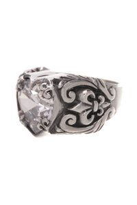 King Baby King Baby Crystal Heart Ring