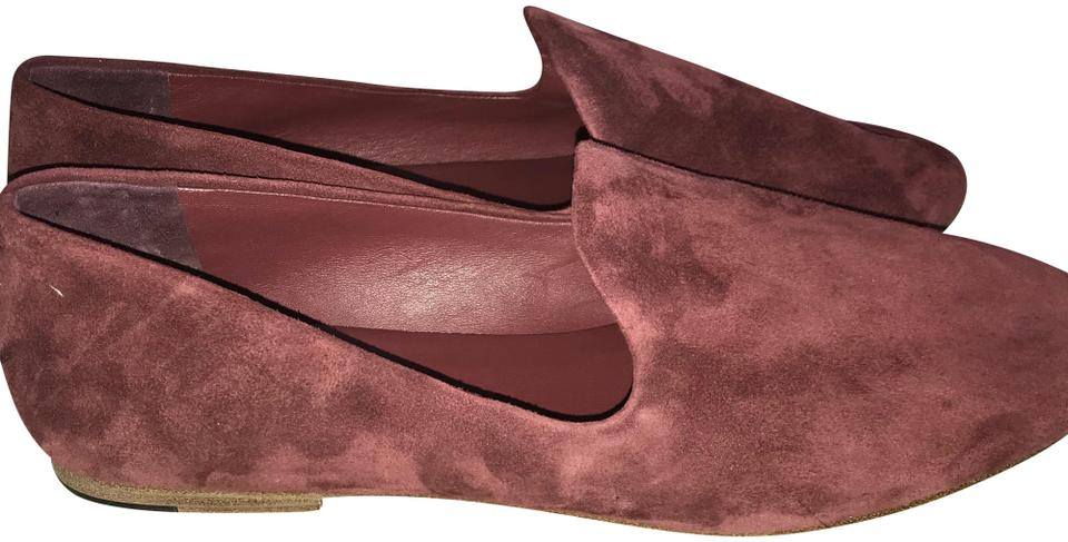 e8a93350c95 Vince Burgundy Bray Suede Loafers Flats Size US 8.5 Regular (M
