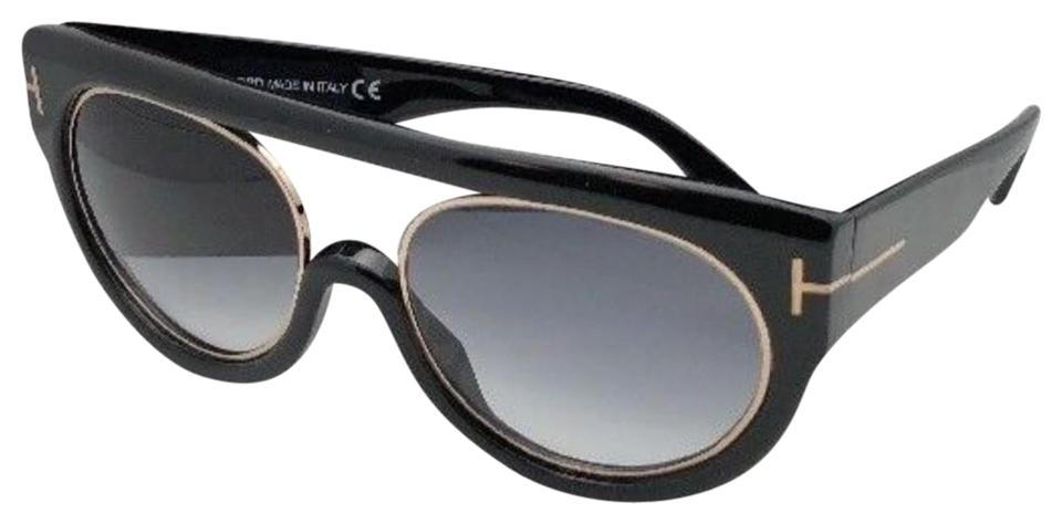 f421fc01d98 Tom Ford New TOM FORD Sunglasses ALANA TF 360 01B 55-18 Black   Gold ...