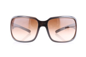 Chanel Chanel Brown Frame Gradient Tint CC Logo Sunglasses 6023