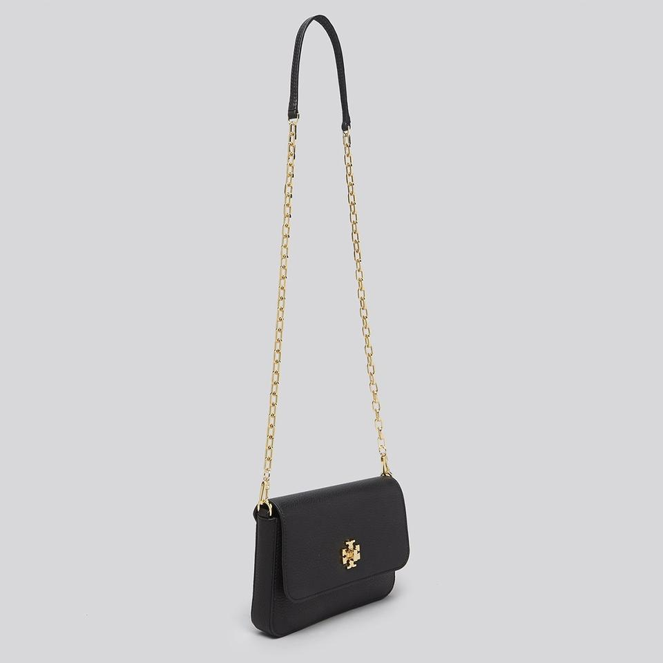 Cross Mercer In Leather Body Bag Chain Black Wallet Tory Burch Pebbled f8WPwq1p4