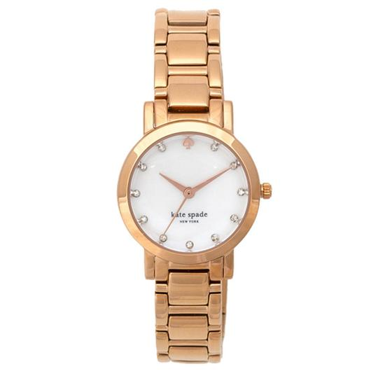 Preload https://img-static.tradesy.com/item/23887760/kate-spade-gold-gramercy-mini-ladies-ion-plated-stone-set-watch-0-0-540-540.jpg